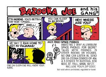 Bazooka Joe Comic
